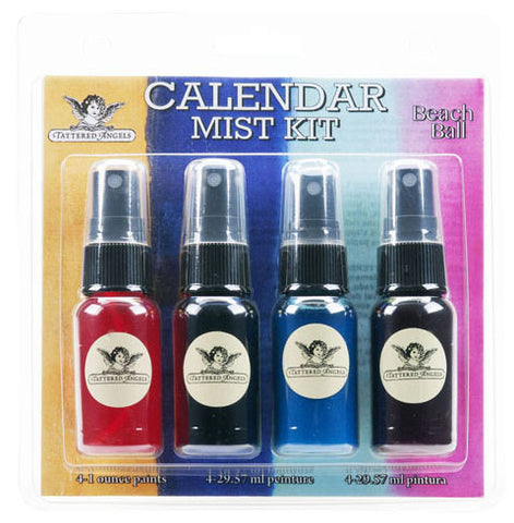 Tattered Angels Calendar Mist Kit - Beach Ball