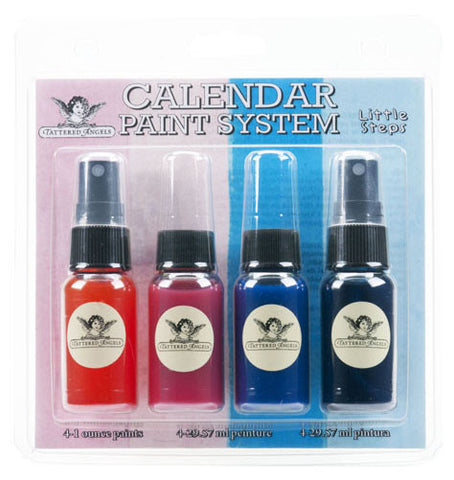 Tattered Angels Calendar Kit Paint System - Little Steps