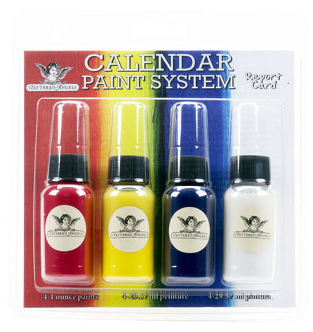 Tattered Angels Calendar Kit Paint System Report Card
