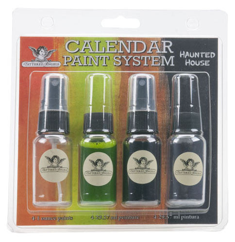 Tattered Angels Calendar Kit Paint System - Haunted House