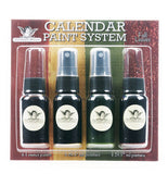 Tattered Angels Calendar Kit Paint System - Fall Leaves