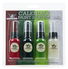 Tattered Angels Calendar Kit Paint System - Jolly