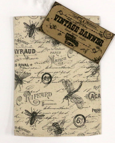 7gypsies Vintage Canvas Banner - Bugs