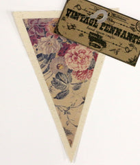 7gypsies Vintage Pennant - Roses