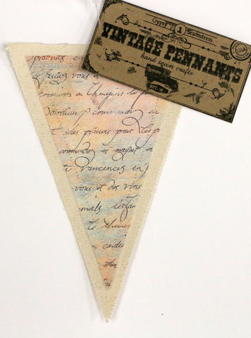 7gypsies Vintage Pennant - Script