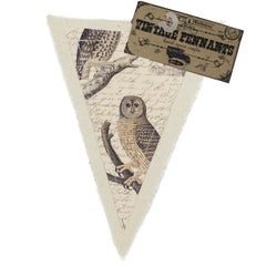 7gypsies Vintage Pennant - Owls