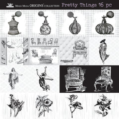 Mixed Media Mini Origins Art Collection - Pretty Things