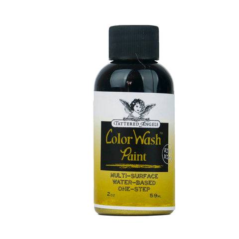 Color Wash Paint Faux Finish  - Brass