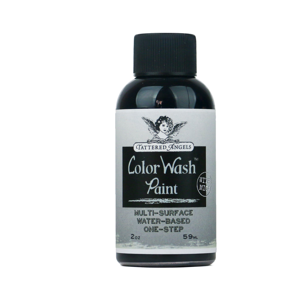 Color Wash Faux Finish  - Silver