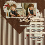 12x12 Burlap Sheet - Chocolate
