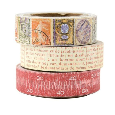 7gypsies Paper Tape: Lille (3 rolls)