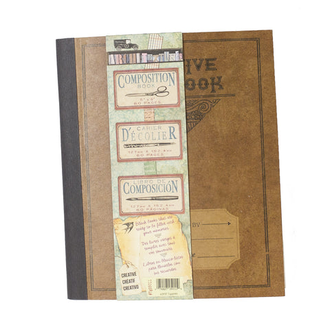 "Architextures™ Composition Book - 5.5""X 6"" Creative Notebook"