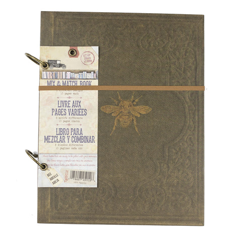 "Architextures™ Mix and Match Book - 8.5""X11"" Bee"