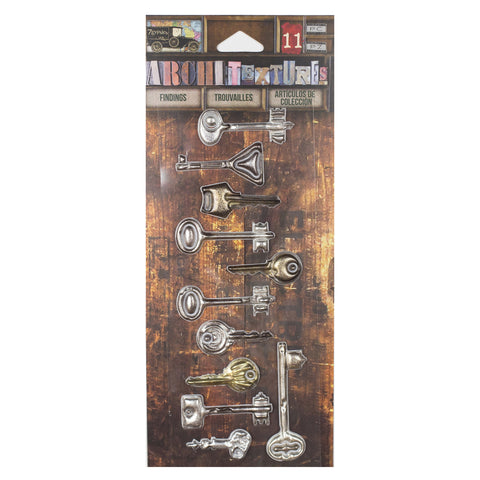 Architextures™ Findings - Vintage Keys Collection