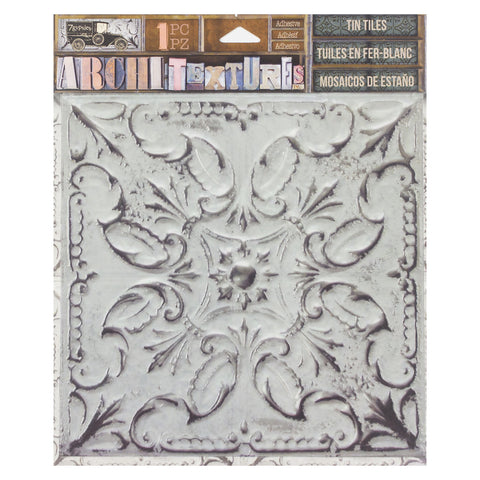 Architextures™ Tin Tile - White Wash