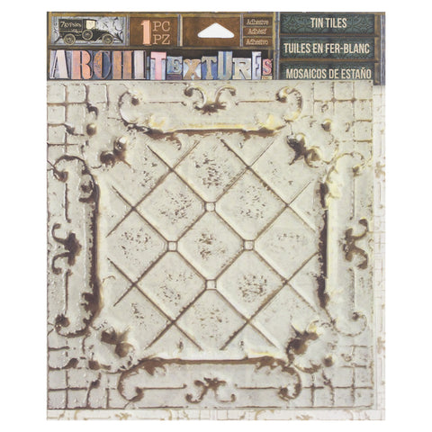 Architextures™ Tin Tile - Alabaster