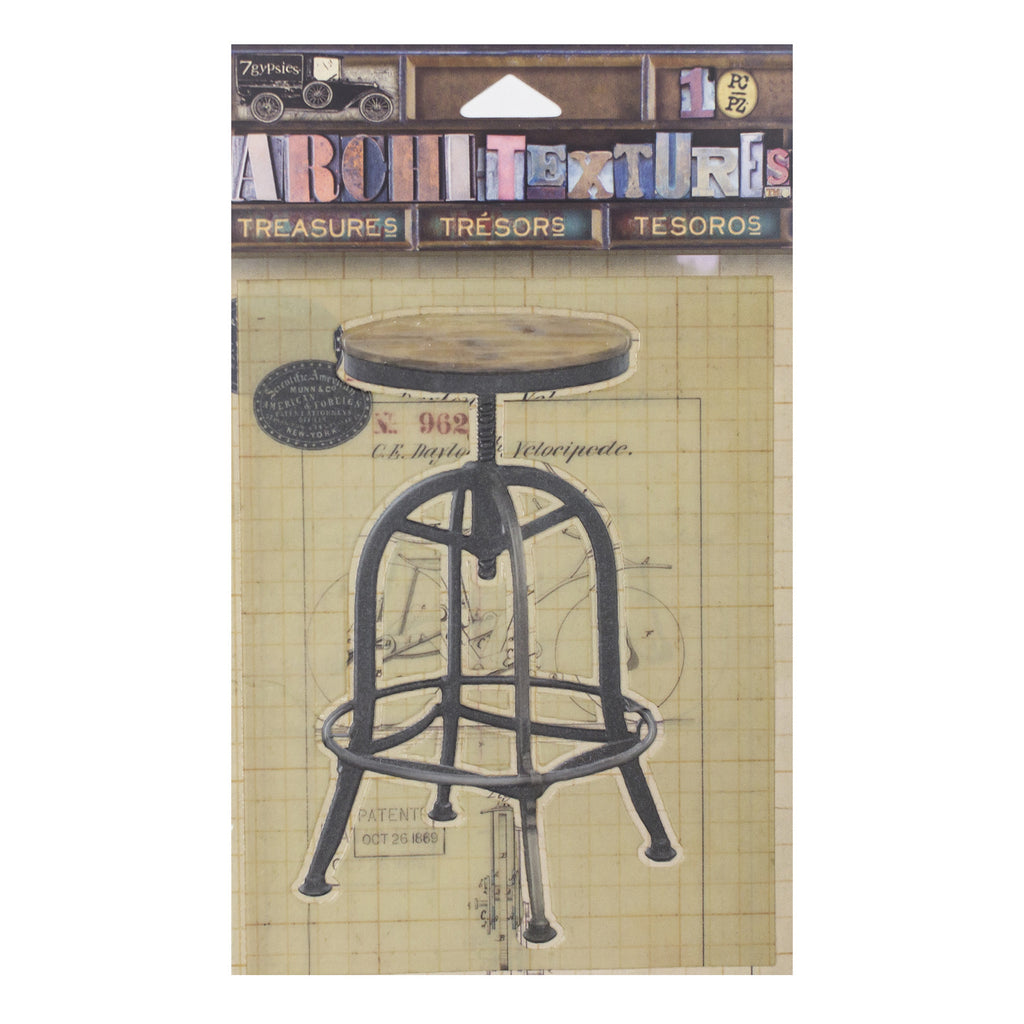 Architextures™ Treasures - Drafting Stool