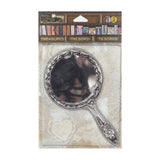 Architextures™ Treasures - Tarnished Silver Mirror