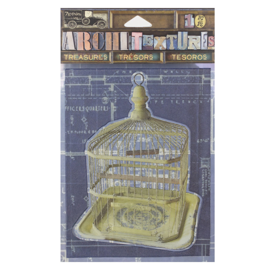 Architextures™ Treasures - Metal Birdcage