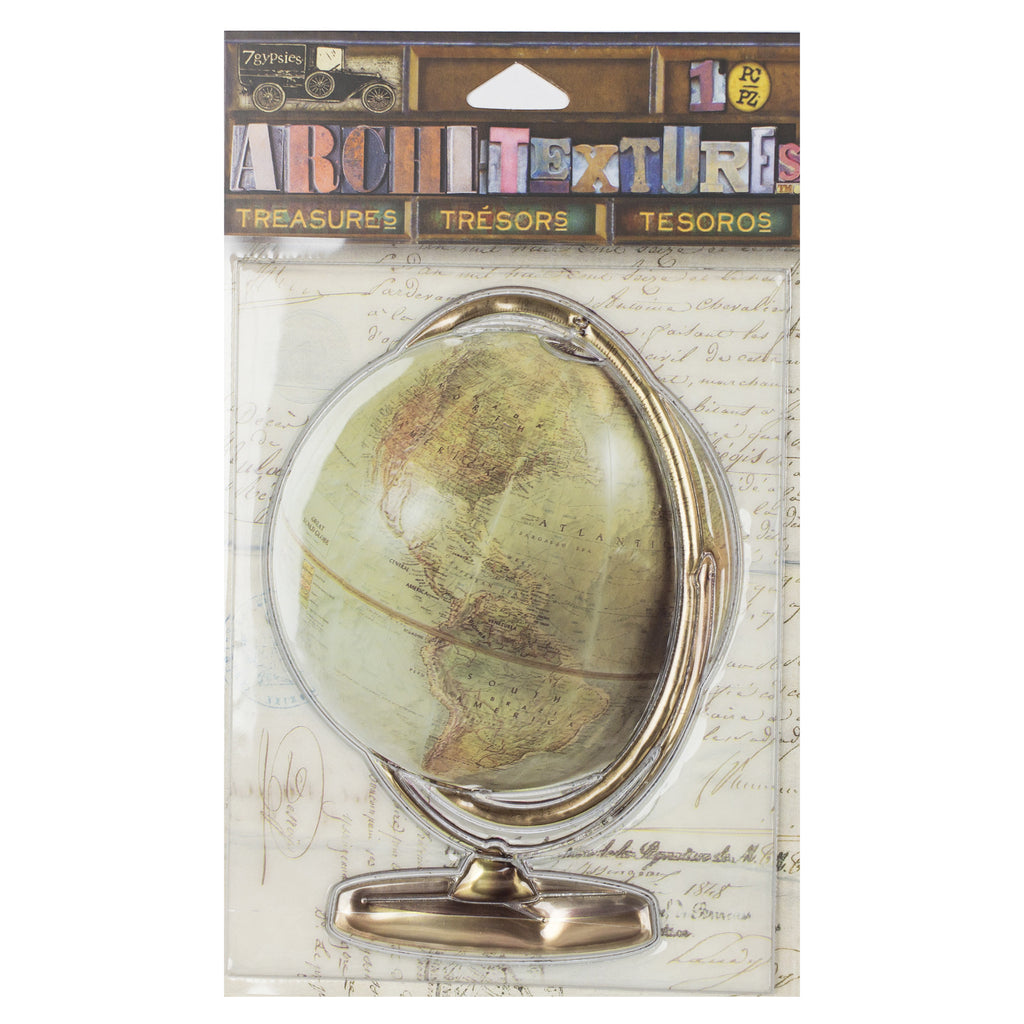 Architextures™ Treasures - Vintage Globe