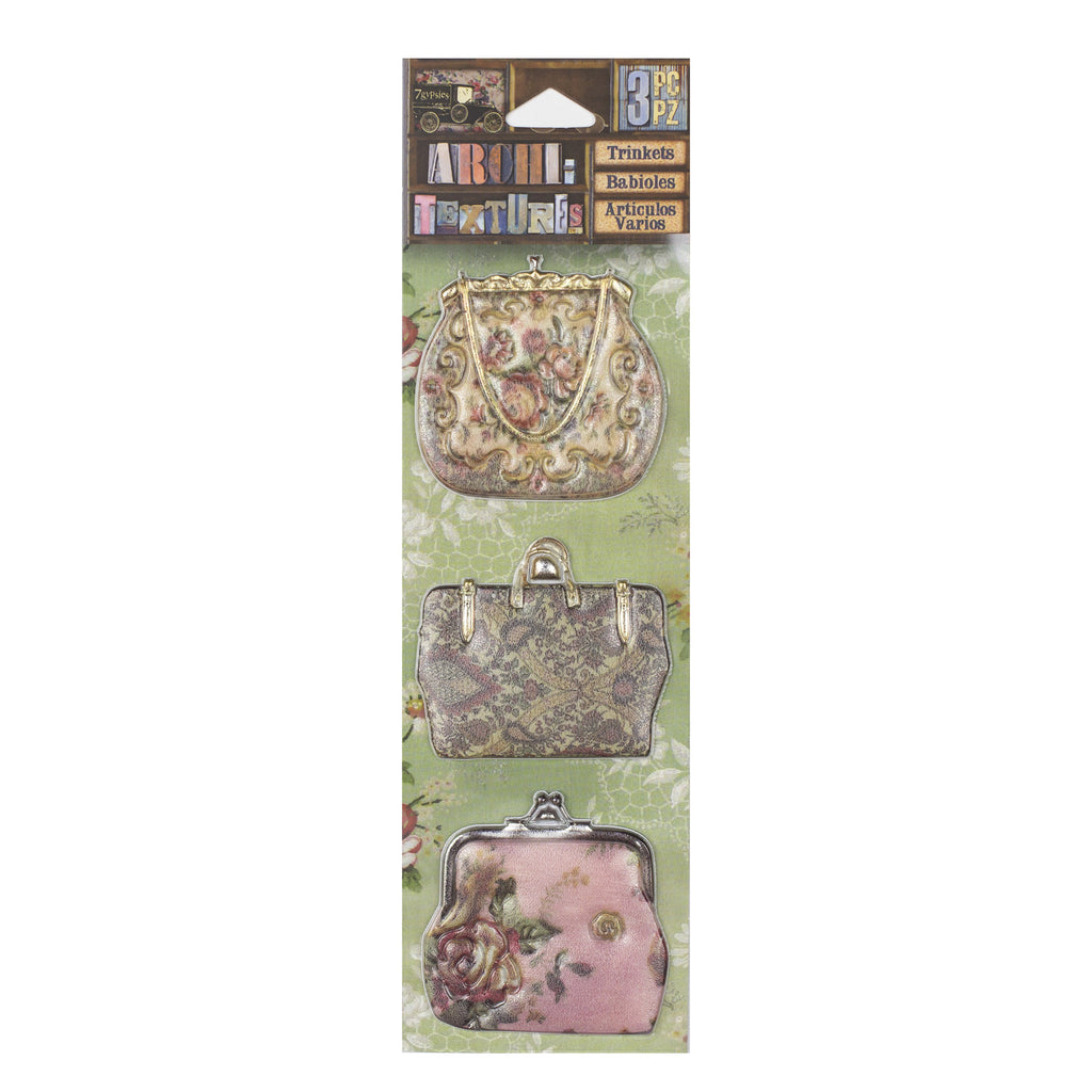 Architextures™ Trinkets - Floral Pocketbooks