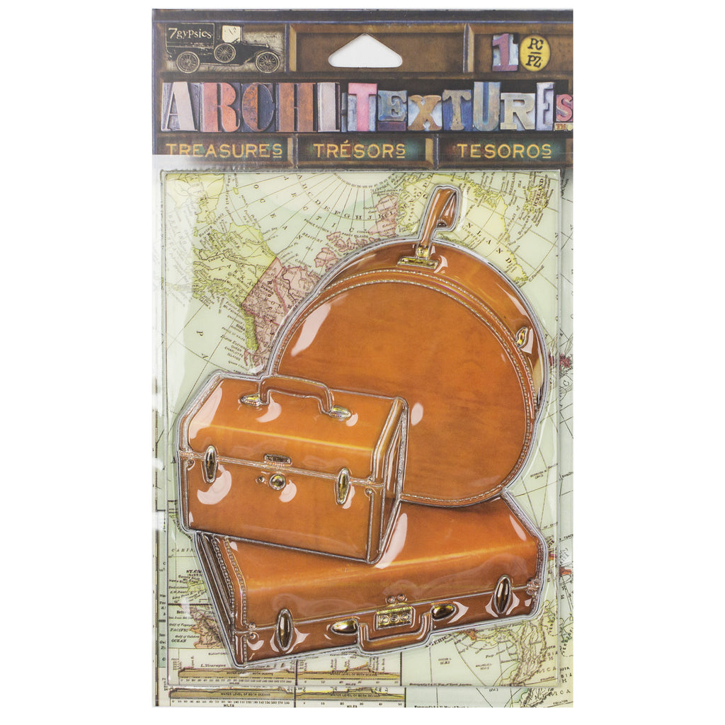 Architextures™ Treasures - Travel Luggage