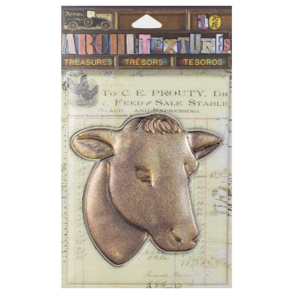 Architextures™ Treasures - Cow Head