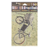 Architextures™ Treasures - Vintage Market Bicycle