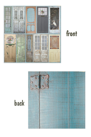 Architextures™ 12x12 Paper - Painted Doors