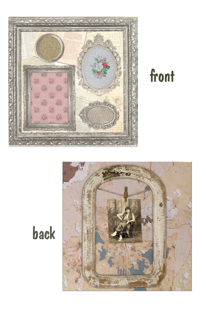 Architextures™ 12x12 Paper - Ornate Frames