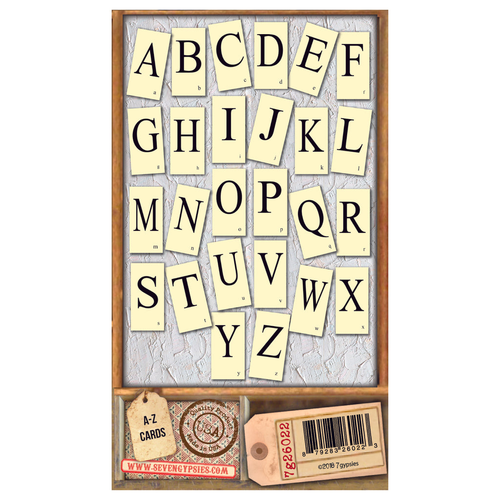 Architextures™ Flash Cards - Alphabet (26 pieces)