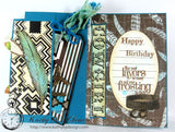 Boots & Saddle: Chocolate and Ivory Feathers Rev Paper