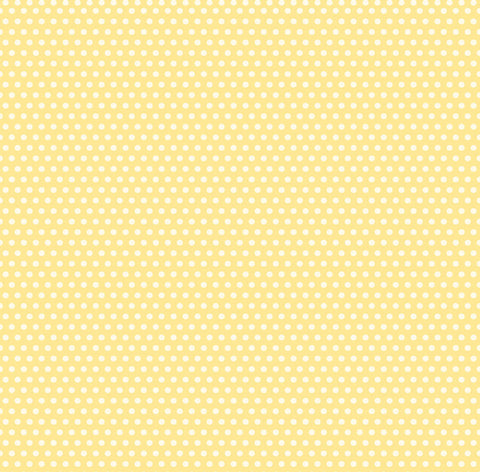 Yellow and Ivory Mini Dot Rev Paper