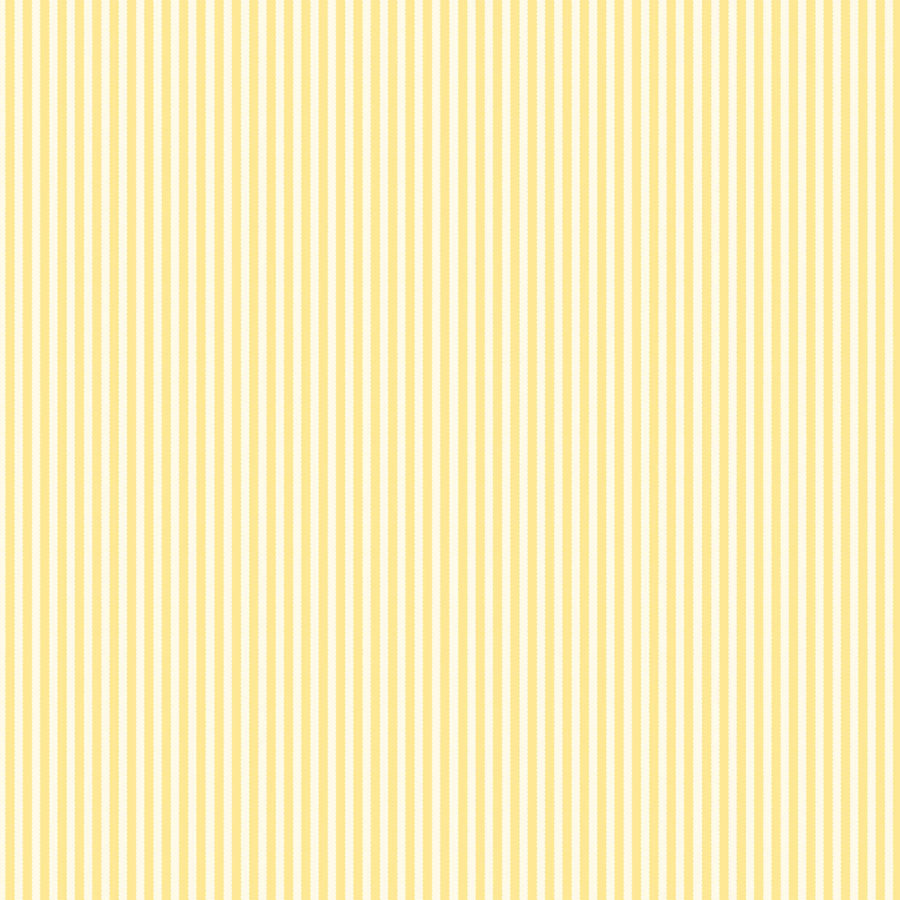 Yellow & Ivory Ribbon Stripe Paper