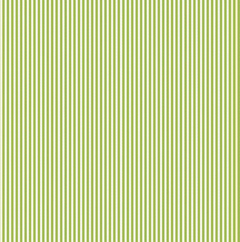 Green and Ivory Ribbon Stripe Paper