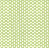 Green and Ivory Dot Reverse Paper