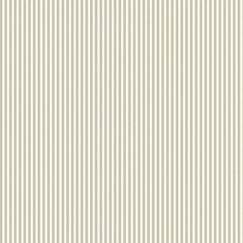 Grey and Ivory Ribbon Stripe