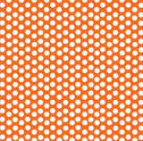 Orange & White Dot Rev Paper
