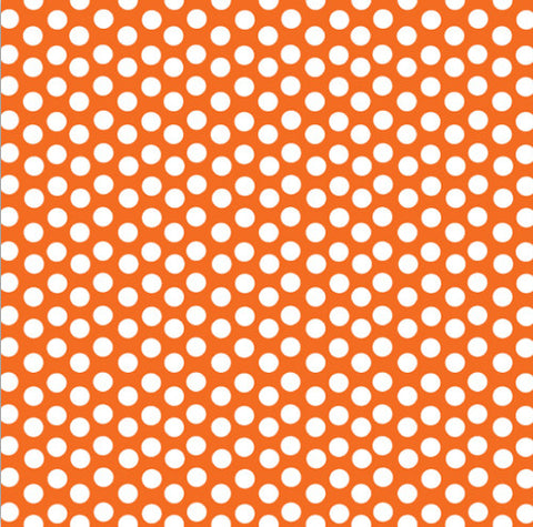 Orange and White Dot Rev Paper
