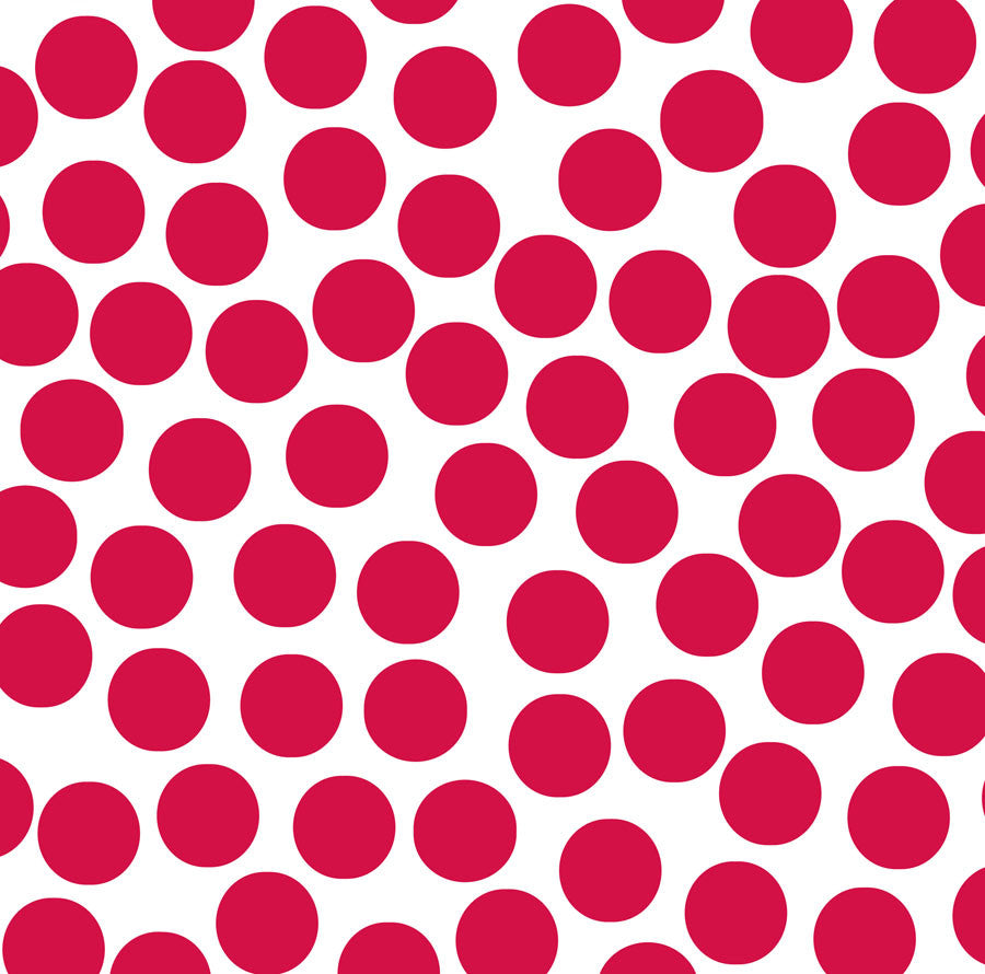 Red and White Big Dot Paper