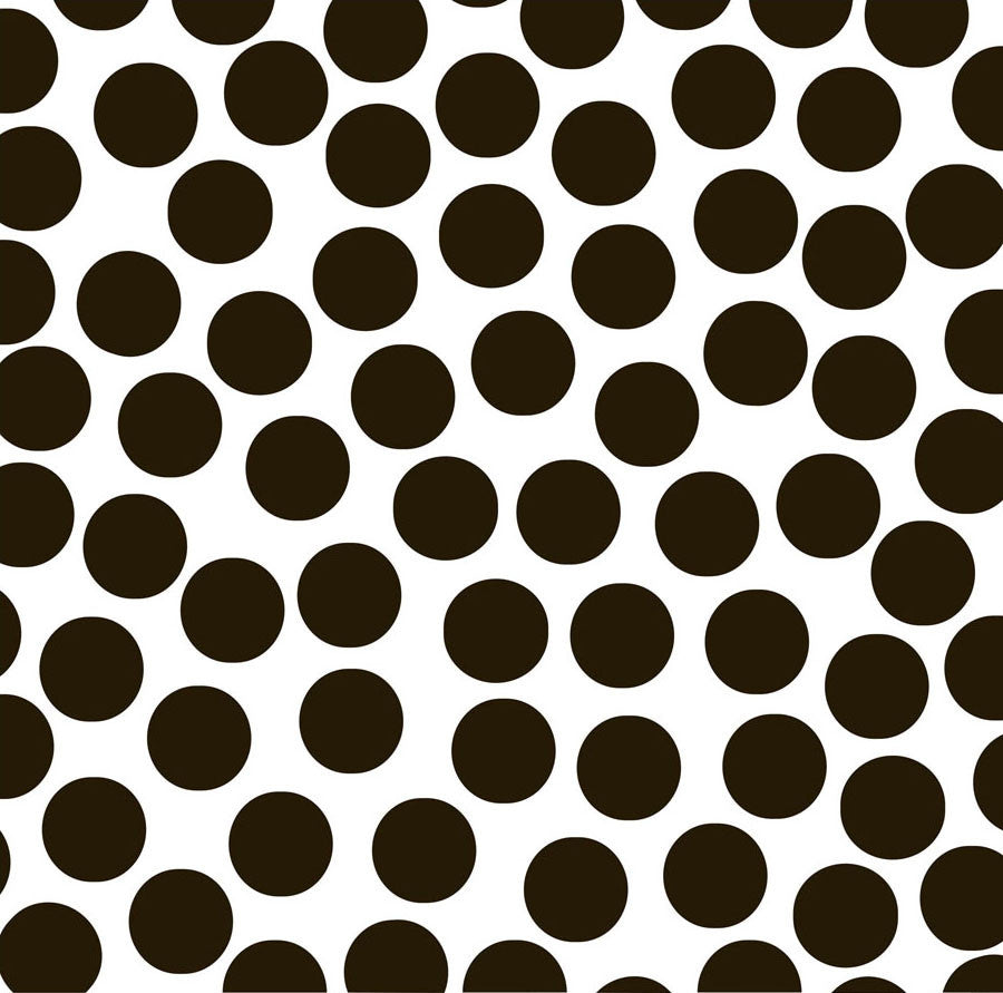 Black and White Big Dot Paper