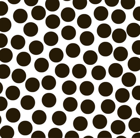 Black & White Big Dot