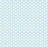 Blue and Ivory Dot Reverse Paper