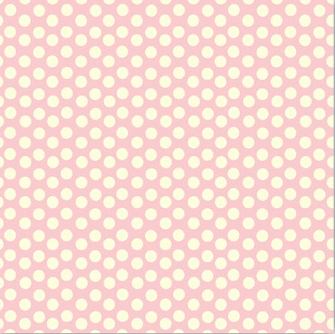 Pink and Ivory Dot Rev Paper