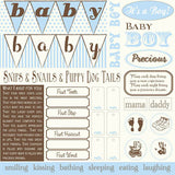 Baby Boy: It's A Boy Sampler on Ivory Paper