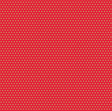 Red and Kraft Mini Dot Rev Paper