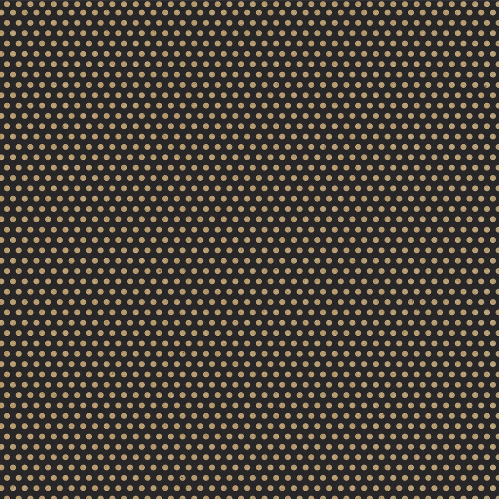 Black and Kraft Mini Dot Rev Paper