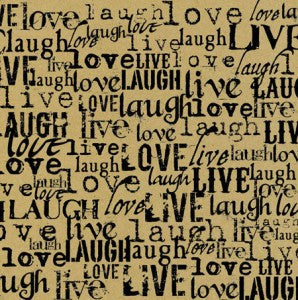Black & Kraft Live, Love, Laugh