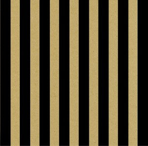 Black and Kraft Big Stripe Paper