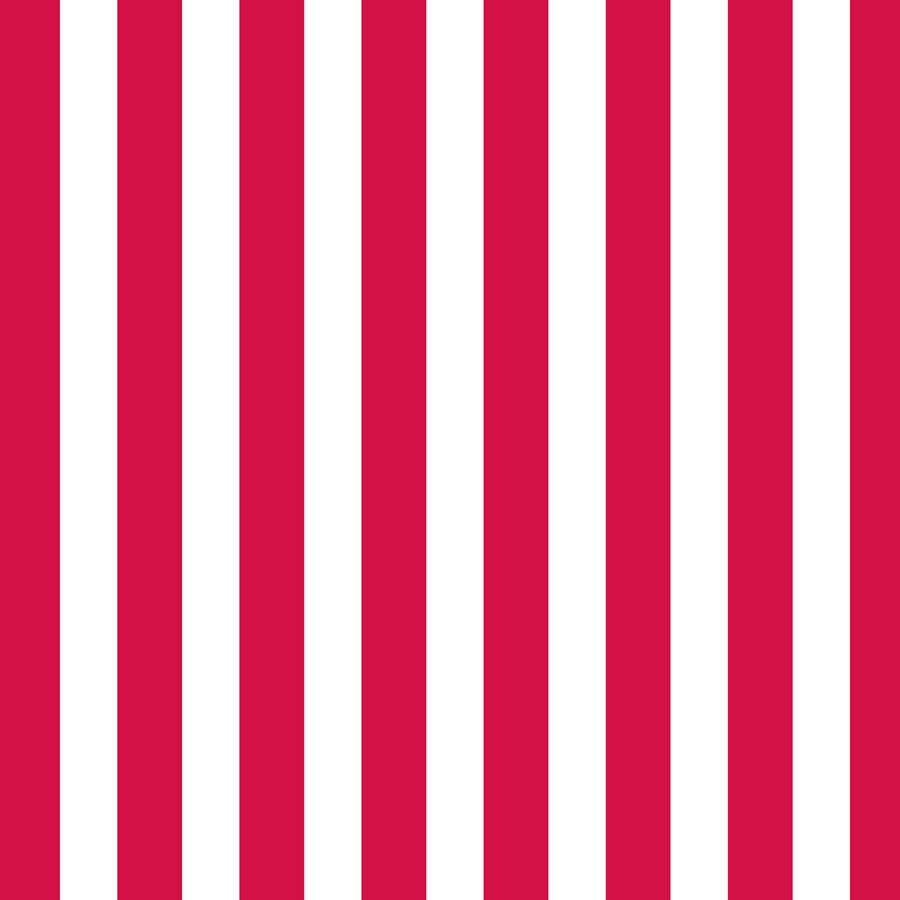 Red & White Big Stripe